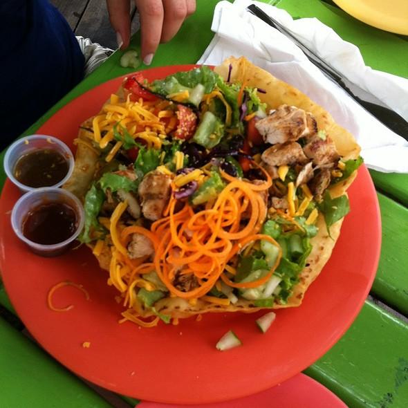 Salad @ Jimmy Buffett's Margaritaville Ocho Rios