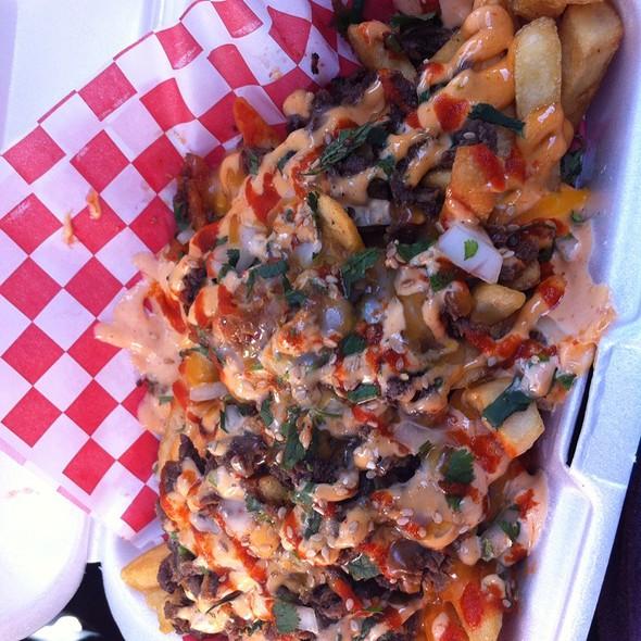 Kimchi Fries @ ChiLantro Korean BBQ + Mexican