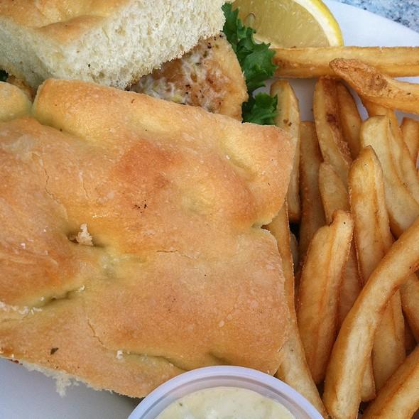 Calamari Fugasa @ aldo's harbor restaurant
