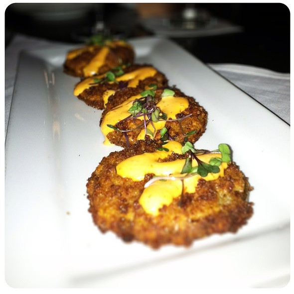 Fried Green Tomatoes @ Julep's