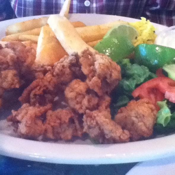 Fried Oyster Platter @ Camaron Pelado Seafood Grill