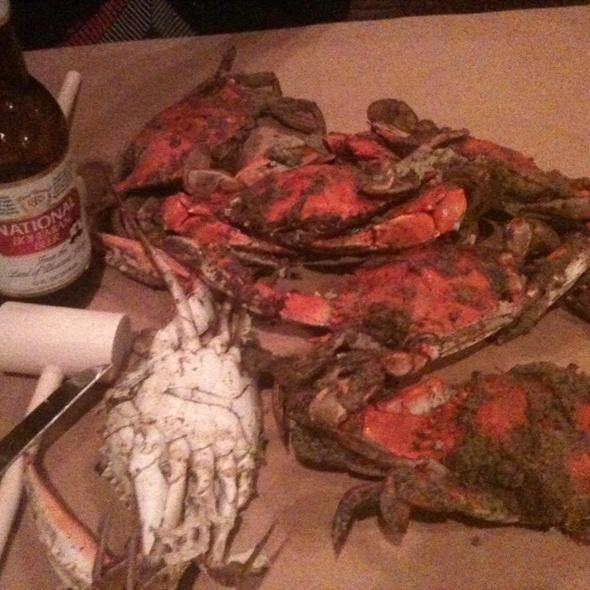 Maryland Blue Crabs @ Obrycki's Crab House