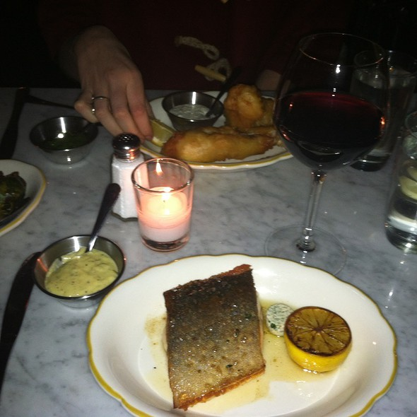 Artic Char And Fish And Chips @ Prima Strada