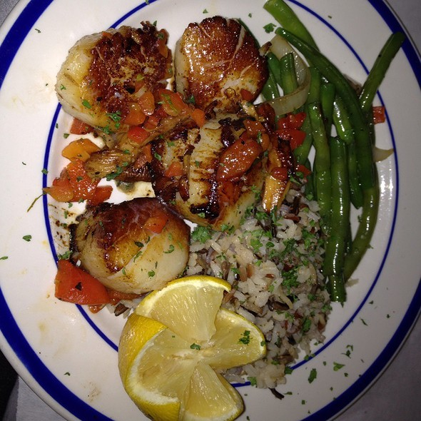 Seared Scallops @ La Lunchonette