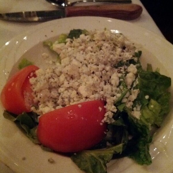 House Salad With Bleu Cheee @ Vince Lombardi's Steak House