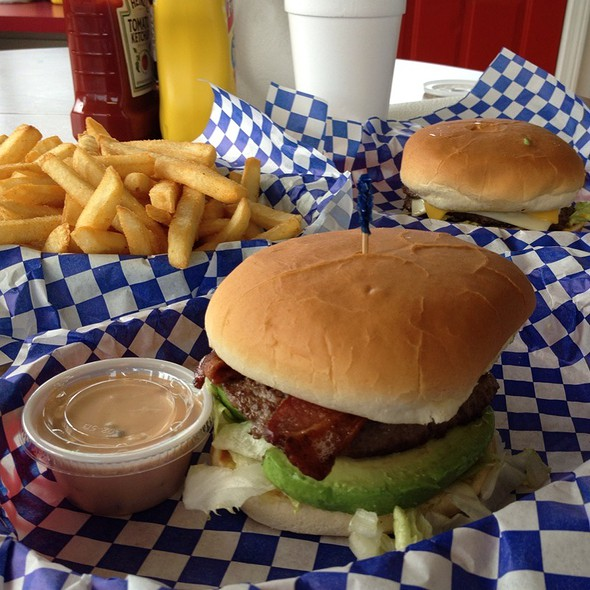 Norma Burger And Onion Rings @ Norma's Burgers