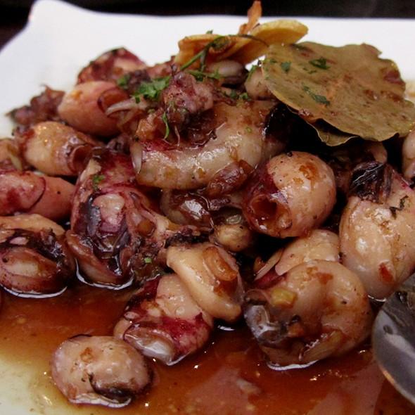 Baby Squid In Olive Oil @ Mesa Filipino Moderne