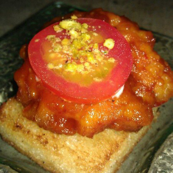 Volcano Shrimp Toast @ Blowfish Sushi To Die For