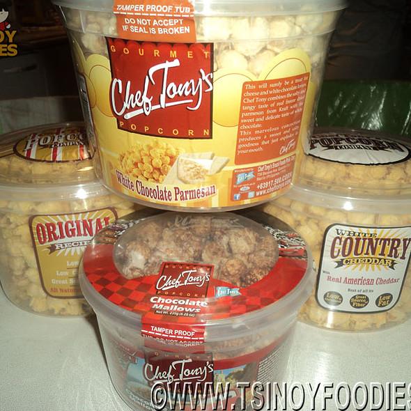 Popcorn @ Chef Tony's
