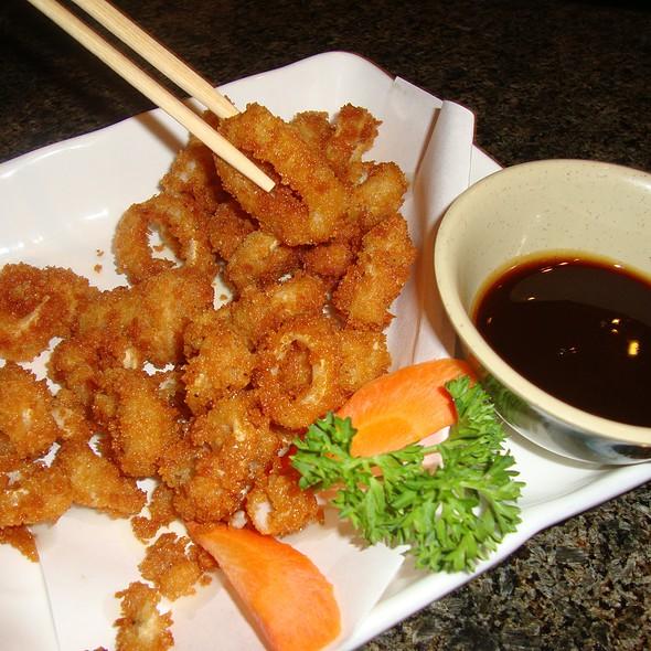 Crispy Calamari @ Sushi Hana Japanese Kitchen