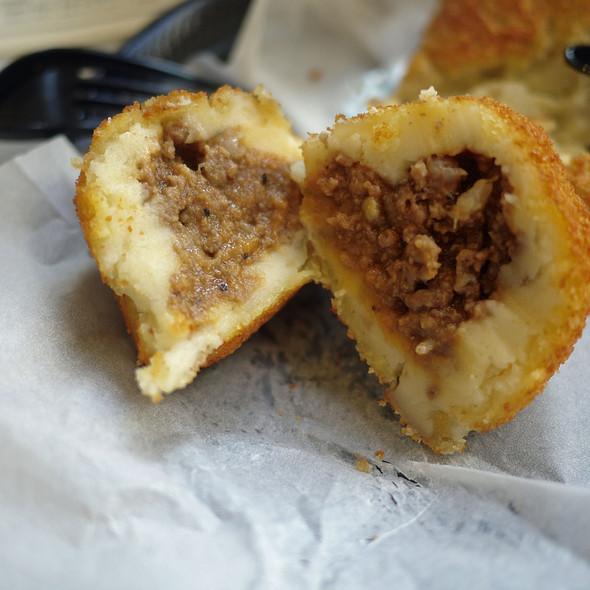 Potato Ball @ Portos Bakery