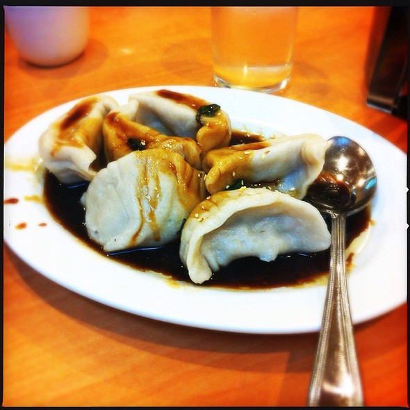 Vegetable Dumplings @ Wo Hop Restaurant