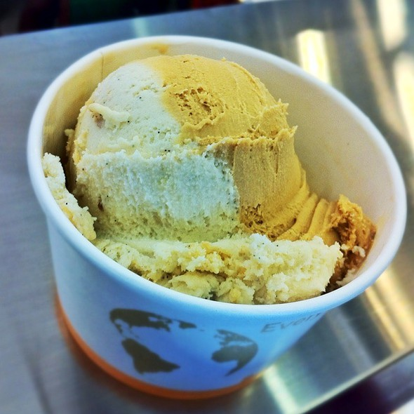 Sea Salt Caramel & Bourbon Pecan Pie Ice Cream