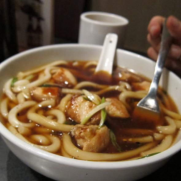 Chicken Teriyaki Udon  Soup @ Azuma Sushi