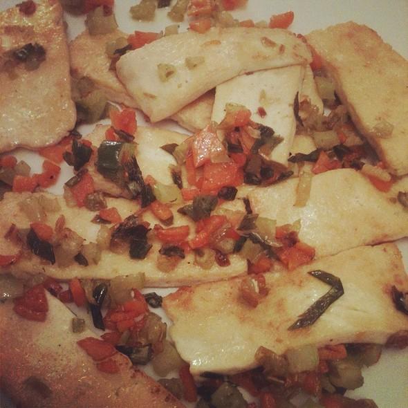 Tofu Alle Verdure (Gamba Di Cipollotto Tropea, Carote E Sedano) @ Larvhouse