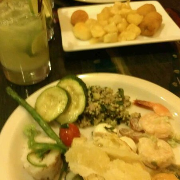 Cold Bar - Green Forest Restaurant, Penn Hills, PA