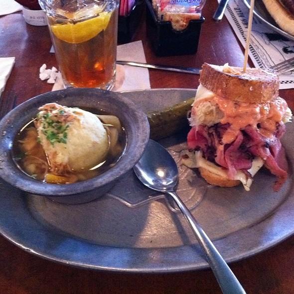 Reuben Sandwich @ Katz's Deli & Bar