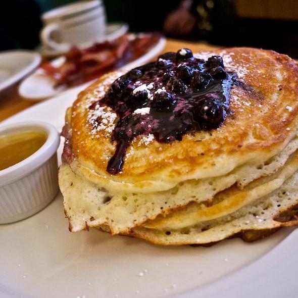 Blueberry Pancakes @ Clinton Street Baking Co