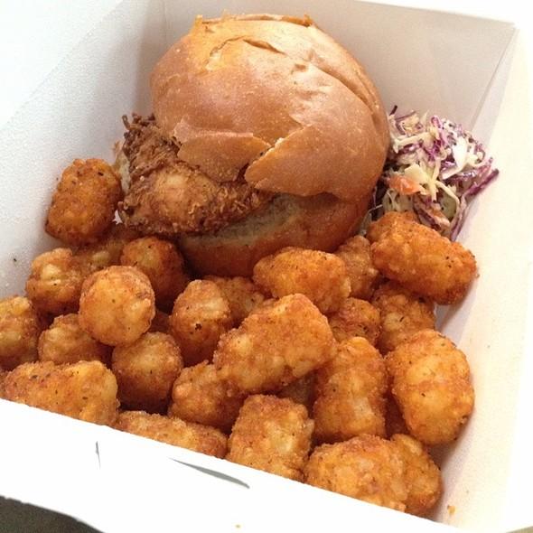 Fried Chicken Sandwich @ Nova Bar & Restaurant