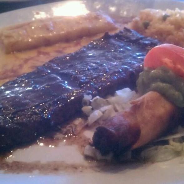 Carne Asada Plate - El Meson, Houston, TX