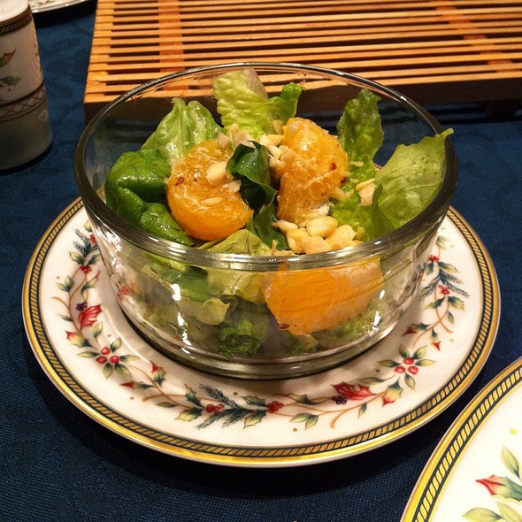Salad With Citrus @ Home