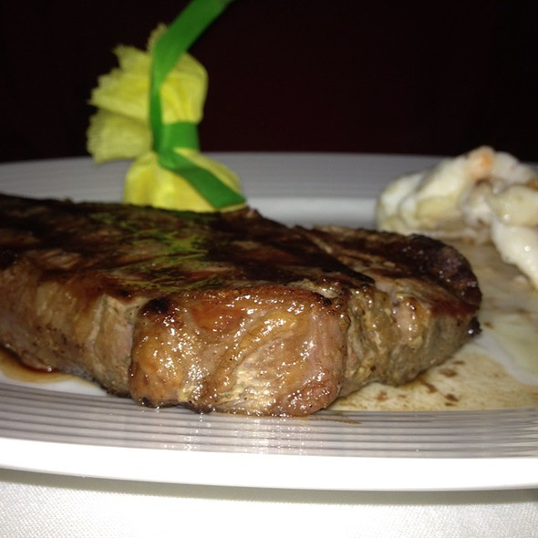 Surf And Ny Strip @ Kirby's Steakhouse San Antonio