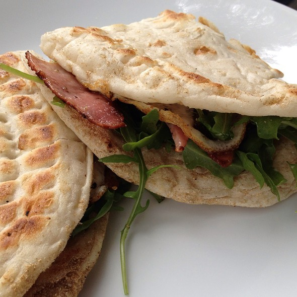 Breakfast Piadina @ Piadina Take Away