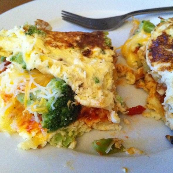 Dinner Omelet @ Home