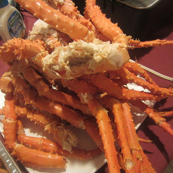 King Crab Legs @ Cristine's Kitchen