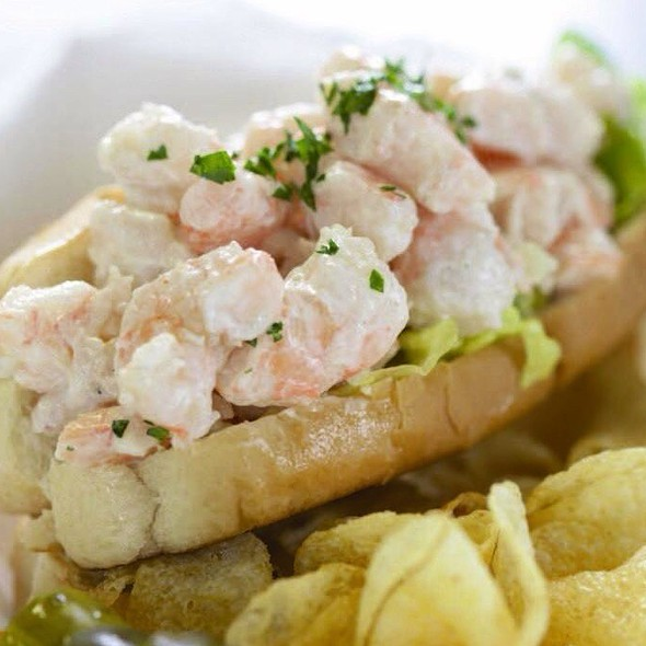 Buddy's Shrimp Roll @ barking dog cafe