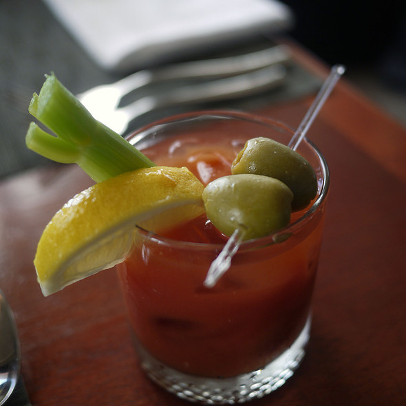 Bloody Mary @ Navio at the Ritz Carlton