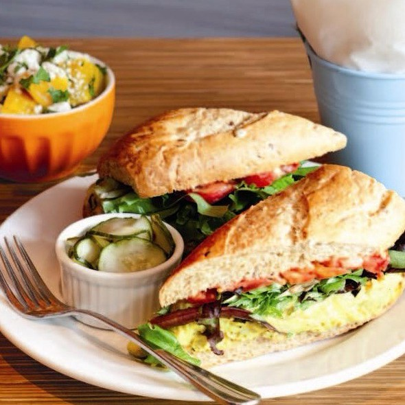 Curried Chicken Salad Sandwich @ Taste Cafe & Marketplace