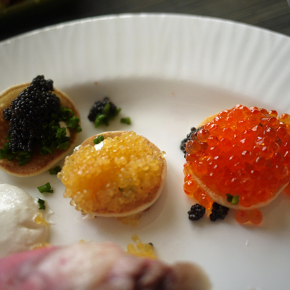 Caviar @ Navio at the Ritz Carlton