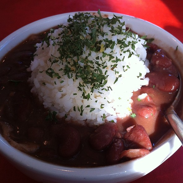 Red Beans and Rice with Sausage @ Calliope's Poboys