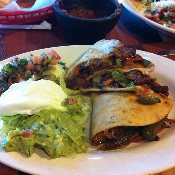 Steak Fajita Quesadilla @ Los Hermanos Taqueria Lawrenceville