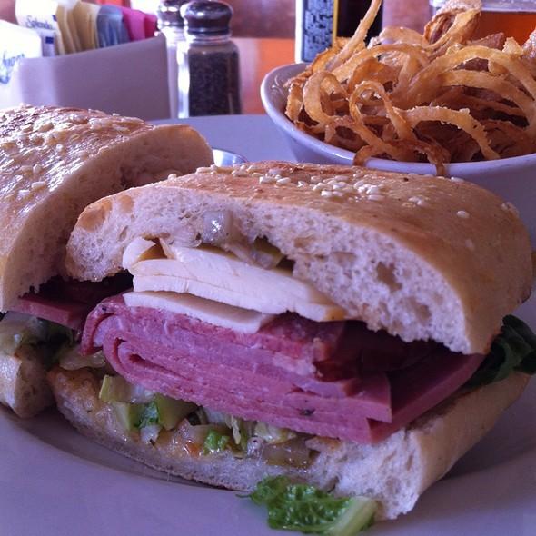 Muffaletta Sandwich @ Memphis At the Santora