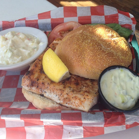 Blackened Mahi Fish Sandwich