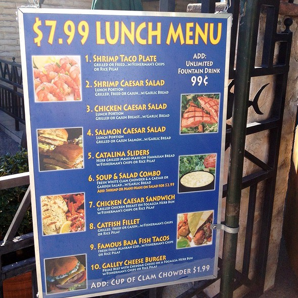 Lunch Specials @ Fisherman's Market & Grill