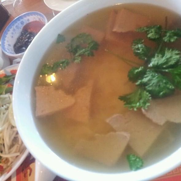 Vegetarian Pho @ Sipz Fusion Cafe