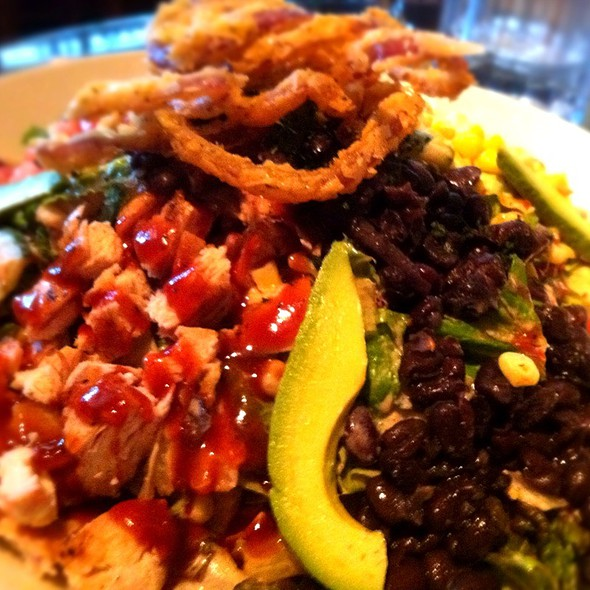 BBQ Chicken Ranch Salad @ Cheesecake Factory