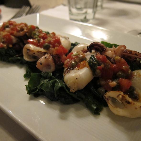 Grilled Calamari @ Tulio Ristorante