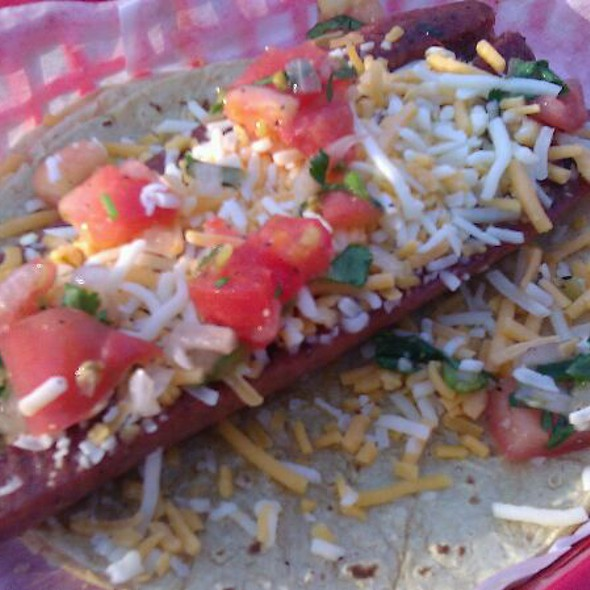 Jalapeño Sausage Taco  @ Torchy's Tacos