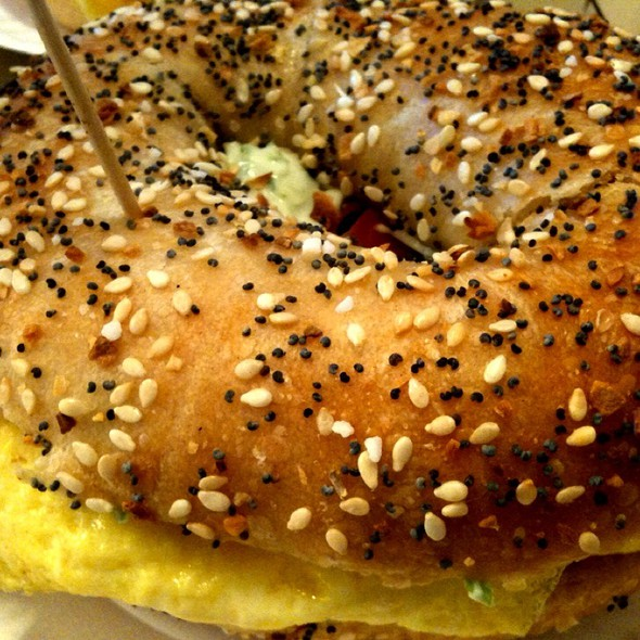 Everything Bagel - Bacon, Egg, Scallion Cream Cheese
