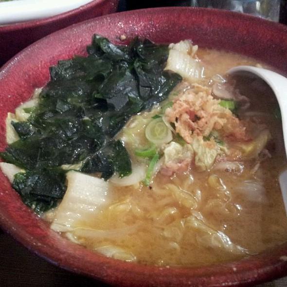 Miso Ramen @ Restaurant Takumi
