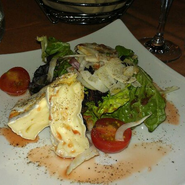 Double Cream Brie Salad With Fennel And Blood Orange Vinaigrette - LeVilla Restaurant, Calgary, AB