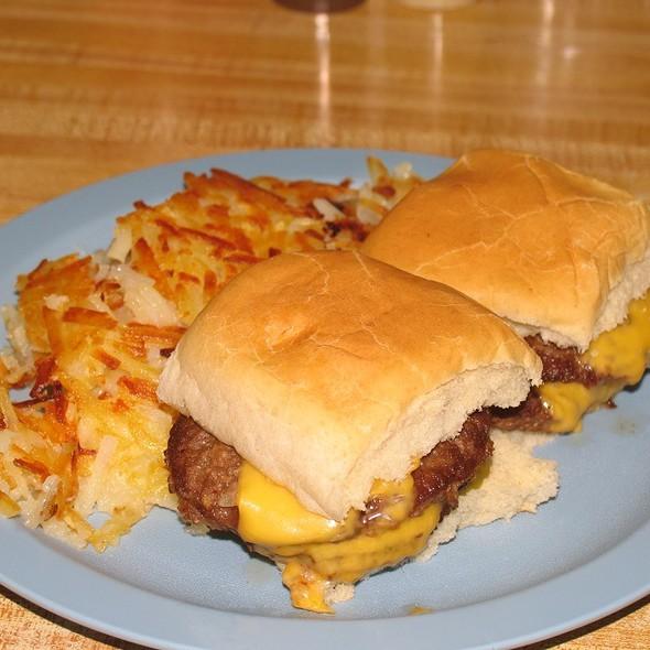 Hamburger @ Hinkle's Sandwich Shop