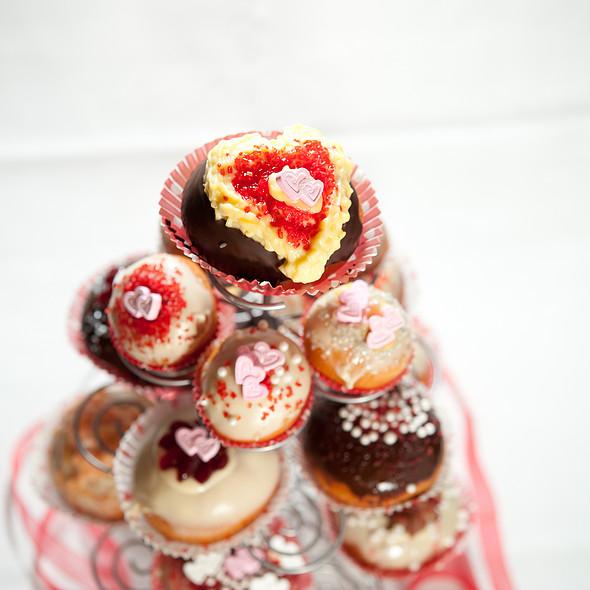 Valentines Day bomboloni @ Bomboloni