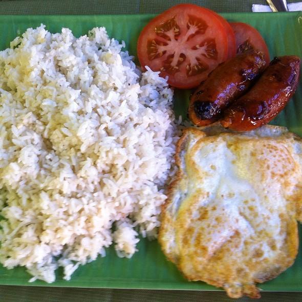 Longsilog @ Mama's Asian Cuisine