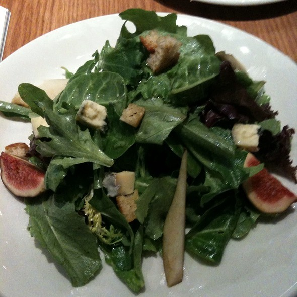 Pear And Fig Salad @ Pizzeria Libretto