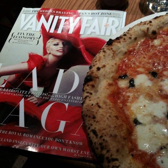 Quattro Formaggio Pizza @ Pizzeria Libretto